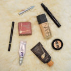 beauty favorites, makeup, beauty, foundation, bronzer, Urban Decay, concealer, eyeliner, Nars, Benefit, Tarte, MAC, mascara,